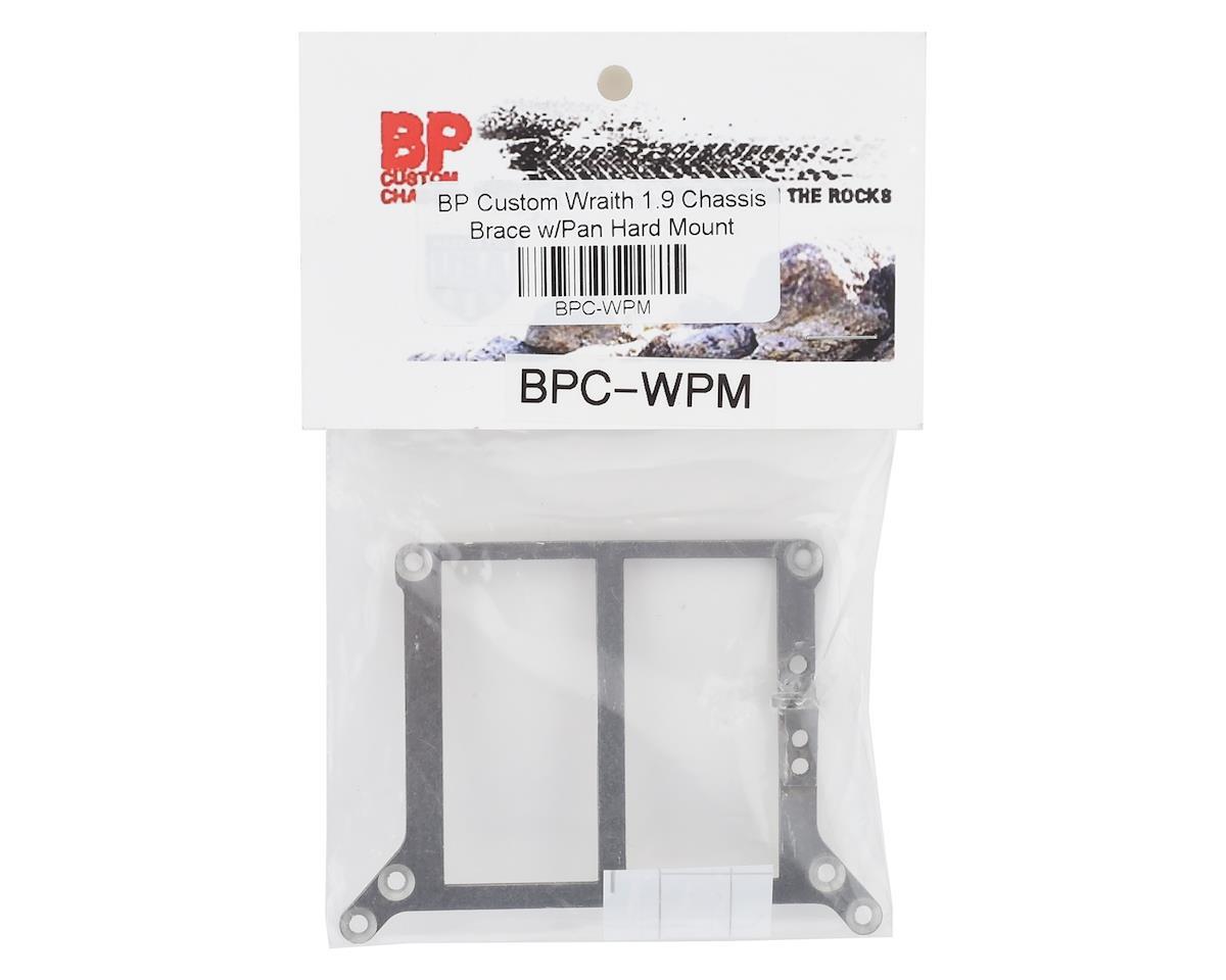 BP Custom Wraith 1.9 Chassis Brace w/Pan Hard Mount