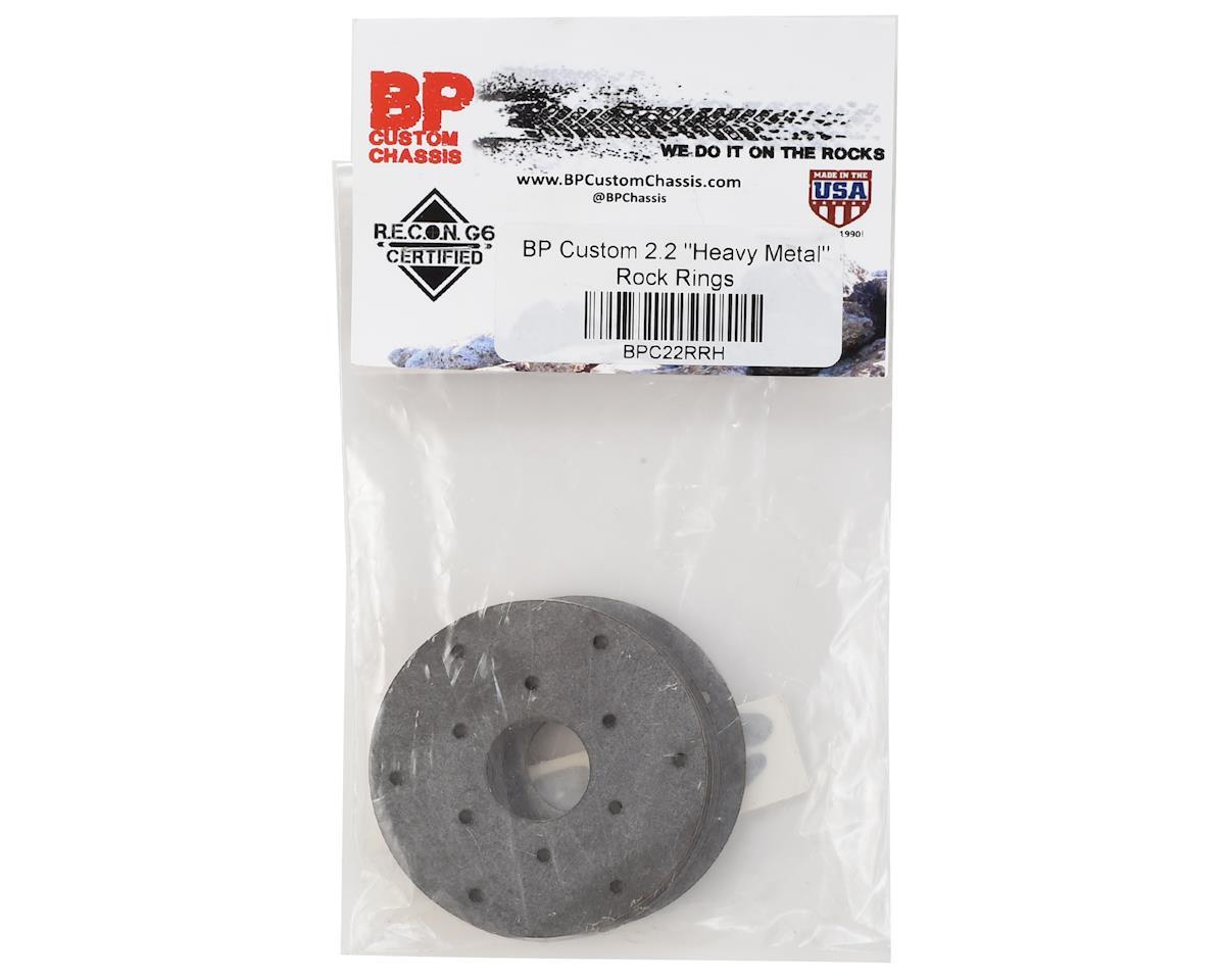 "BP Custom 2.2 ""Heavy Metal"" Beadlock Rings (4)"