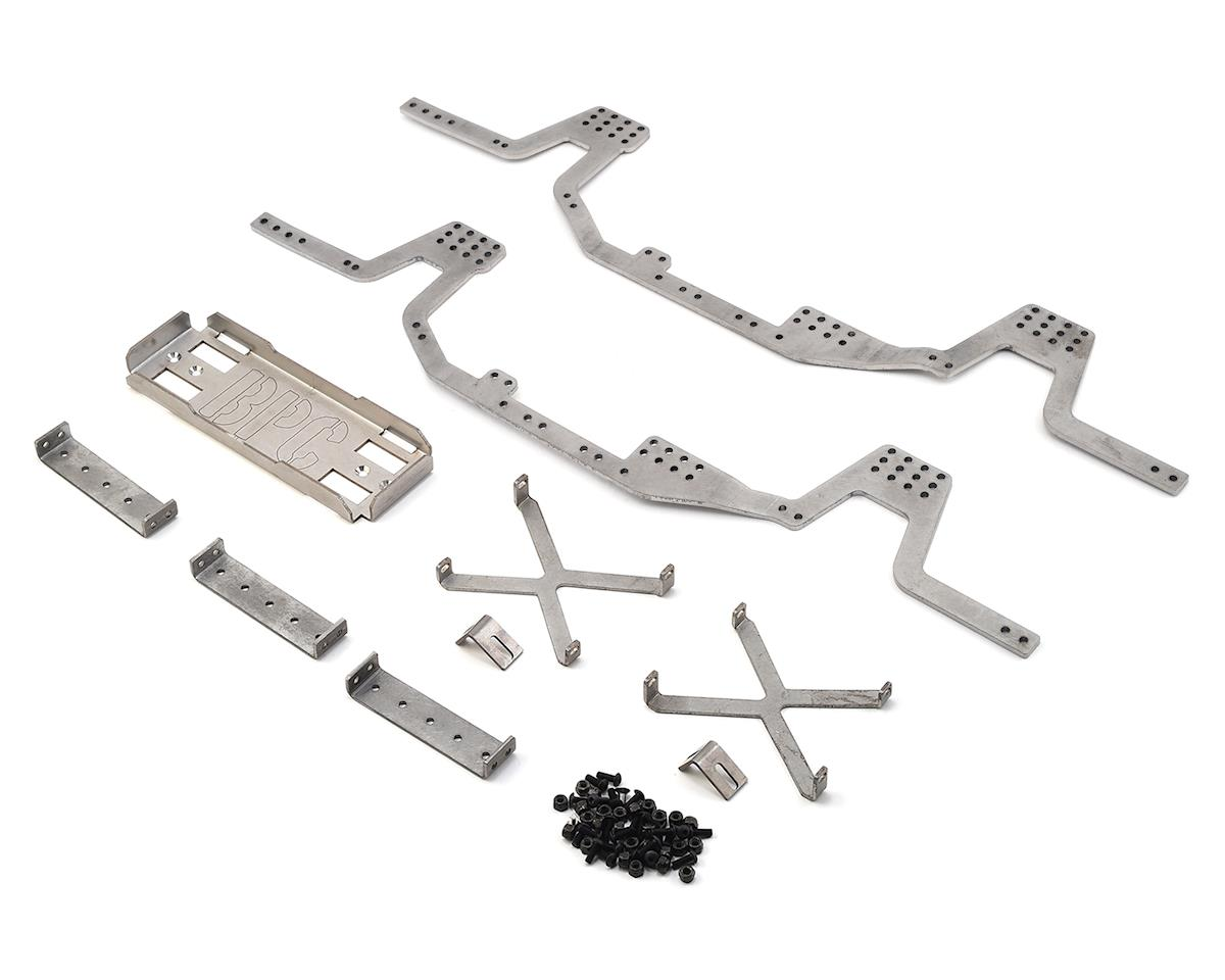 Gen6 Steel SCX10 Chassis Rail Kit by BP Custom