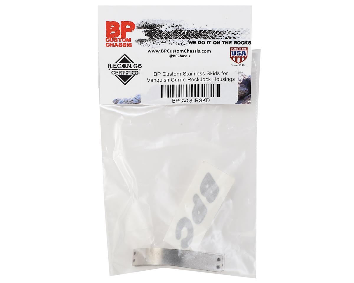 BP Custom Vanquish Currie RockJock Stainless Skid Plate (2)