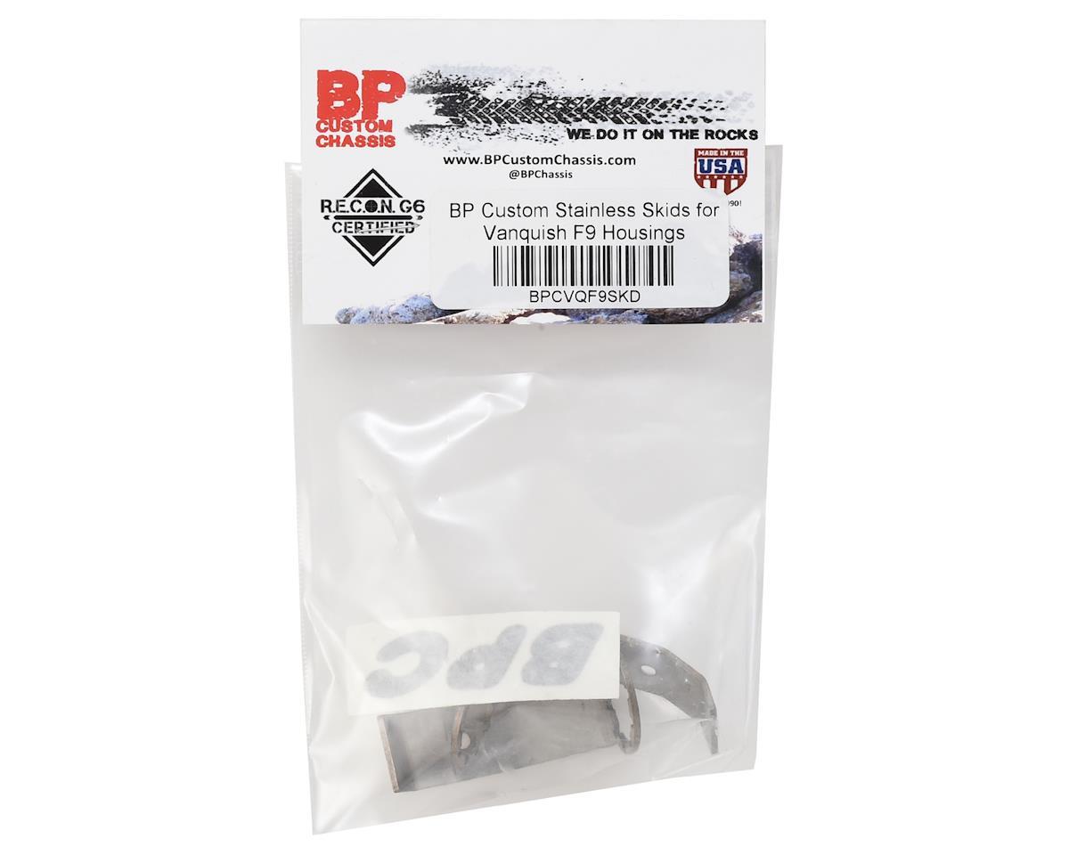 BP Custom Vanquish F9 Stainless Skid Plate (2)