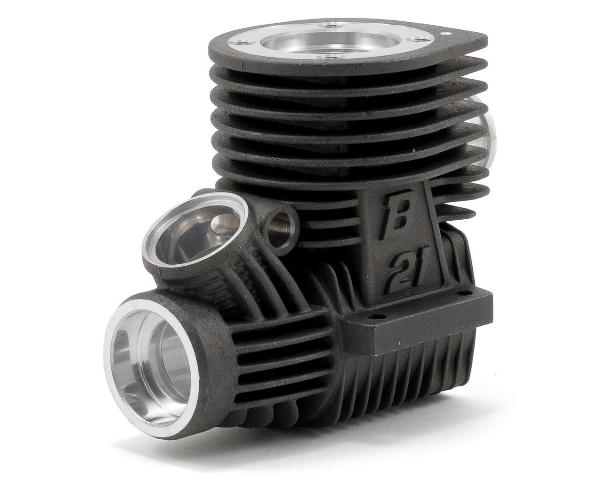 "BP Engines Buggy R ""Tuned"" Crankcase (Black)"