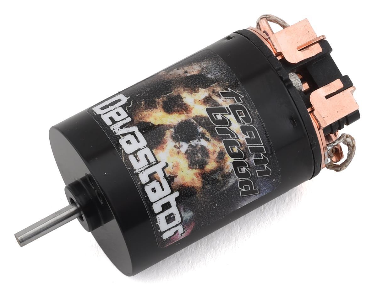 Team Brood Devastator Handwound 550 3 Segment Dual Magnet Brushed Motor (25T) (Redcat Gen8)