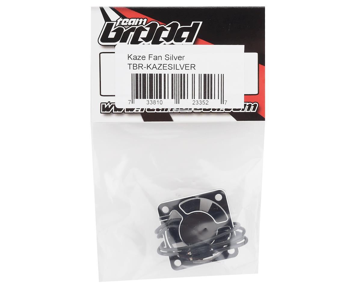 Team Brood Kaze Aluminum HV High Speed Cooling Fan (Silver)