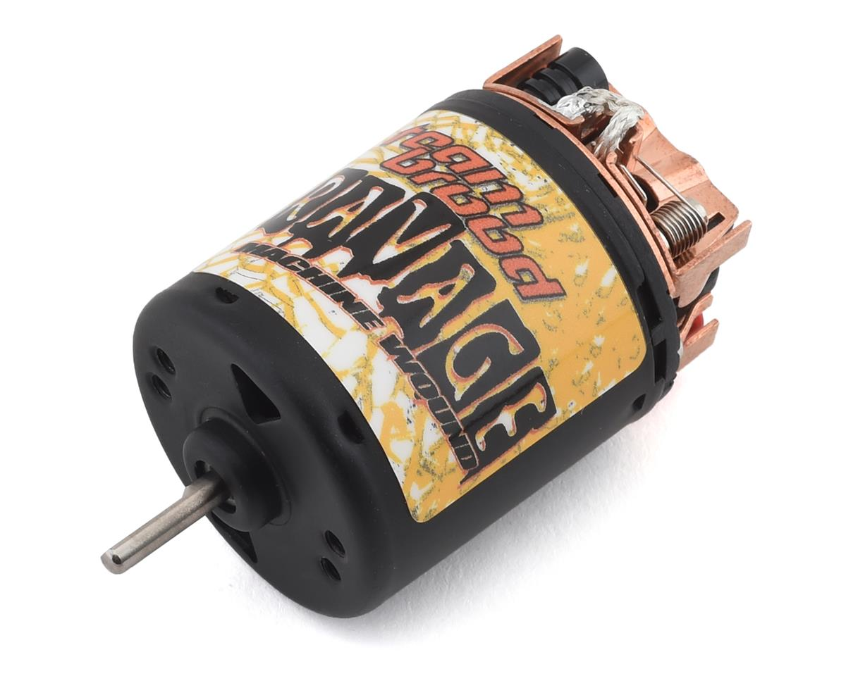 Team Brood Ravage Machine Wound 540 5 Segment Dual Magnet Brushed Motor (11T)