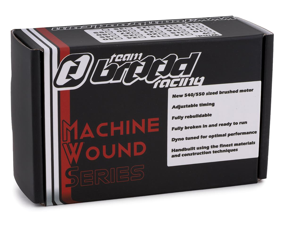 Team Brood Ravage Machine Wound 540 5 Segment Dual Magnet Brushed Motor (16T)