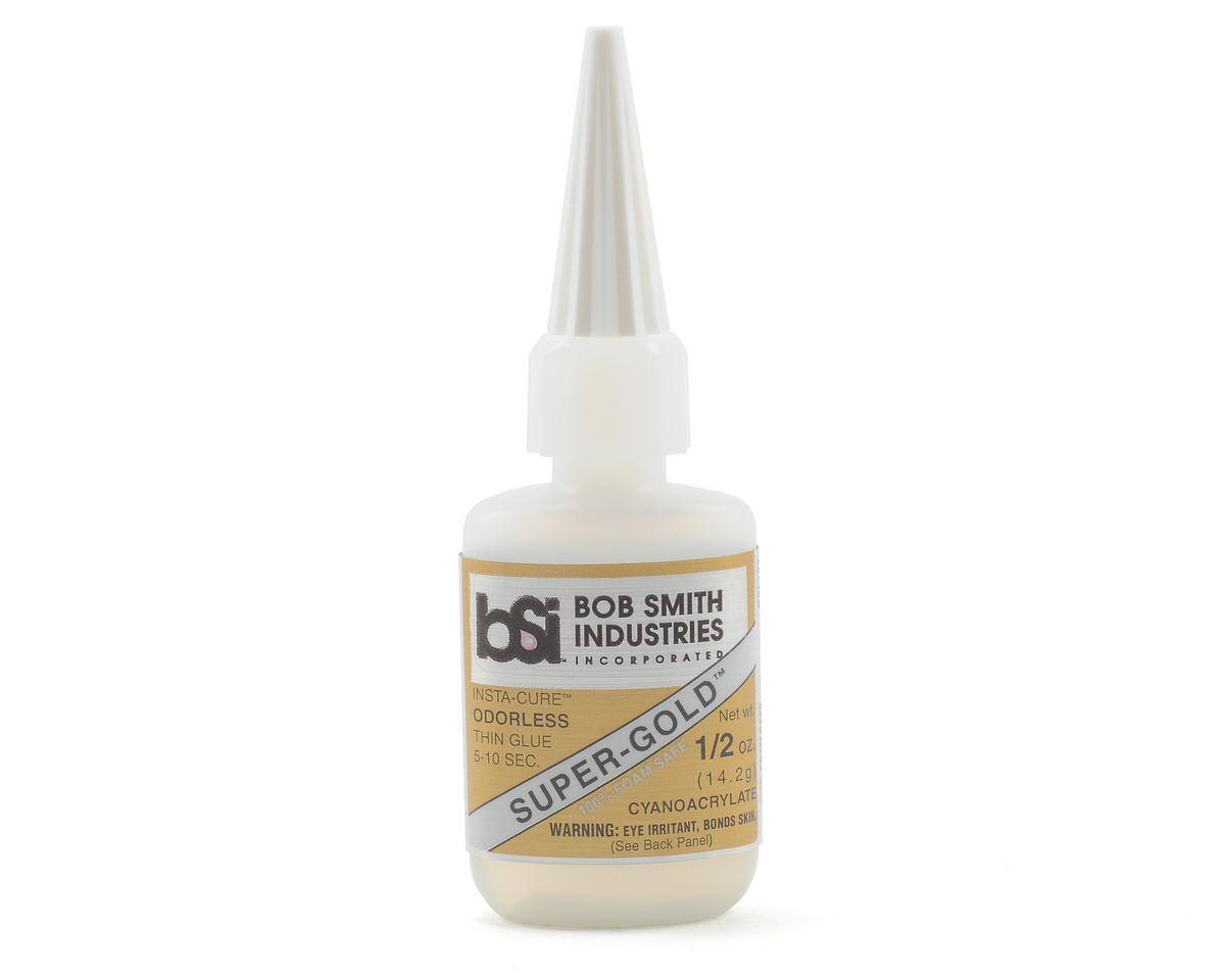 SUPER-GOLD Thin Odorless Foam Safe (1/2oz) by Bob Smith Industries