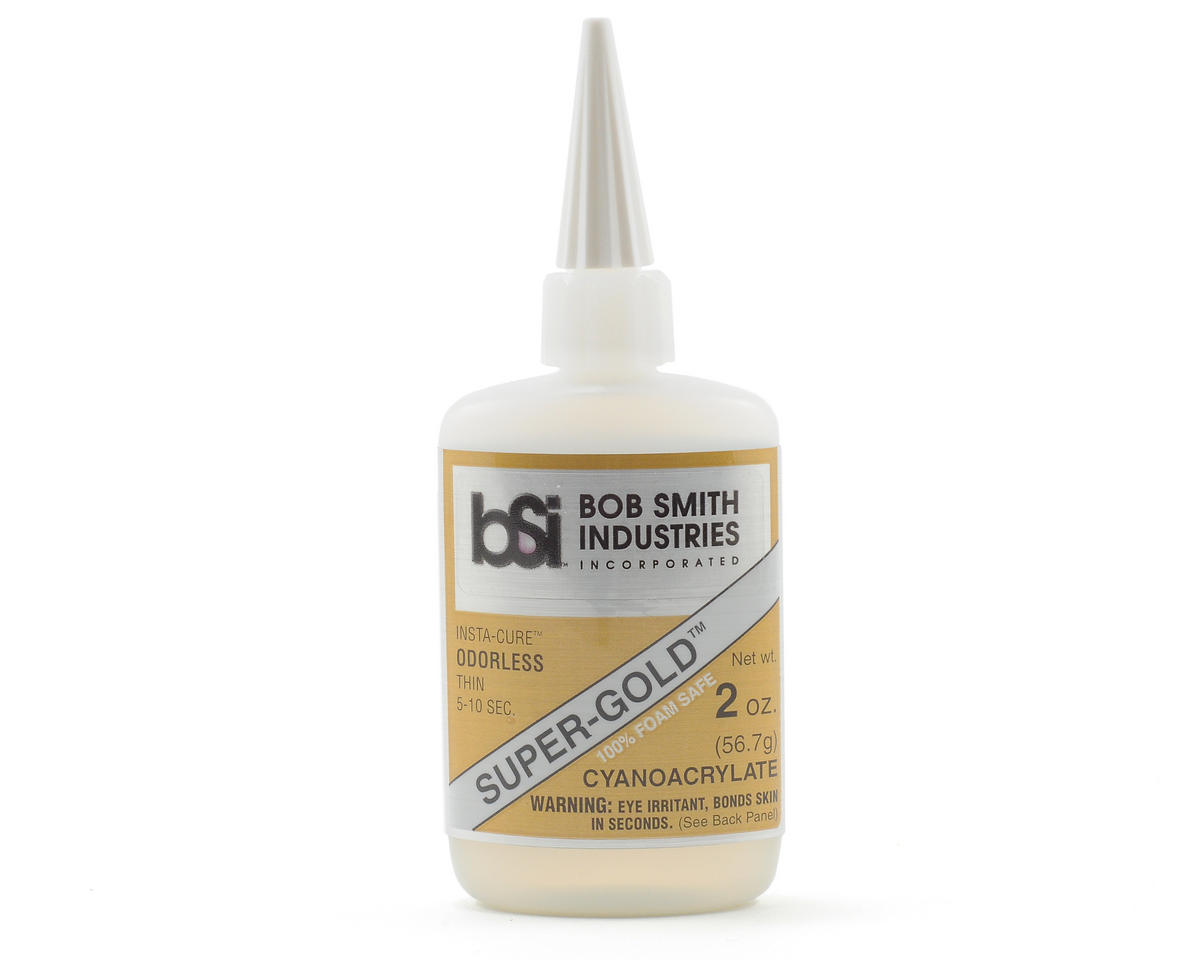 SUPER-GOLD Thin Odorless Foam Safe (2oz) by Bob Smith Industries