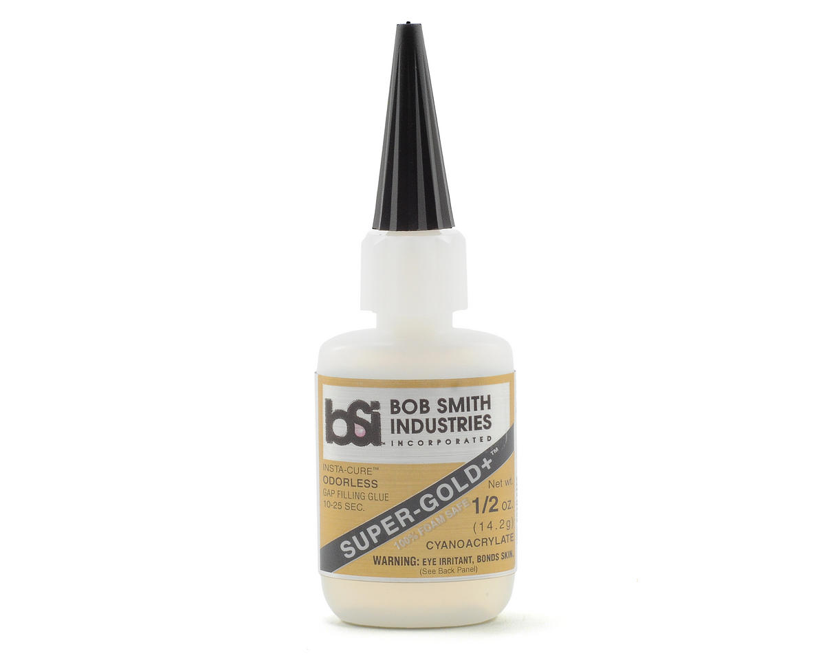 SUPER-GOLD+ Gap-Filling Odorless Foam Safe (1/2oz) by Bob Smith Industries