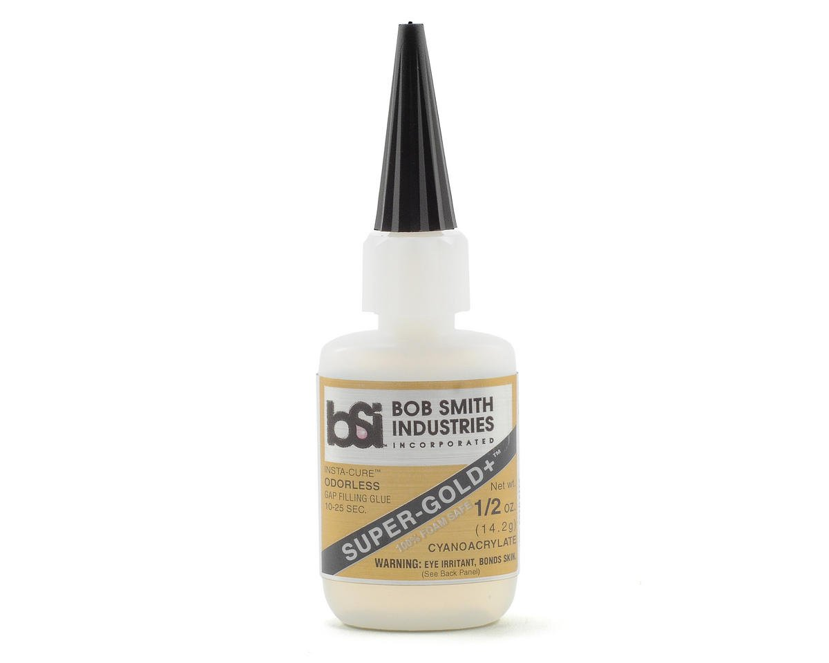 Bob Smith Industries SUPER-GOLD+ Gap-Filling Odorless Foam Safe (1/2oz)