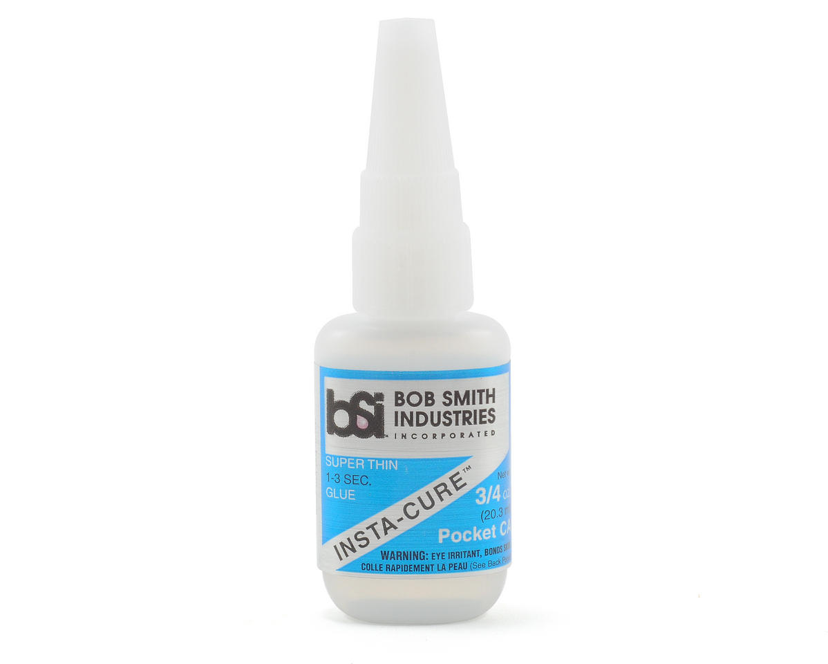 Bob Smith Industries INSTA-CURE POCKET Super Thin CA w/Pin in Cap (3/4oz) | alsopurchased