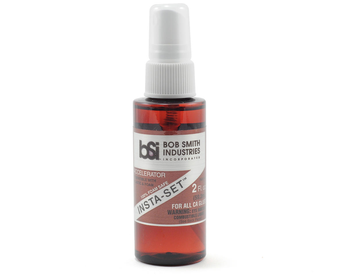 Bob Smith Industries INSTA-SET Foam Safe Accelerator Pump Spray (2oz)