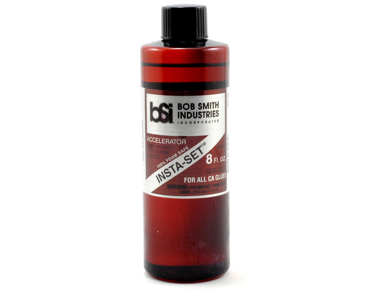 INSTA-SET Foam Safe Accelerator Refill (8oz) by Bob Smith Industries