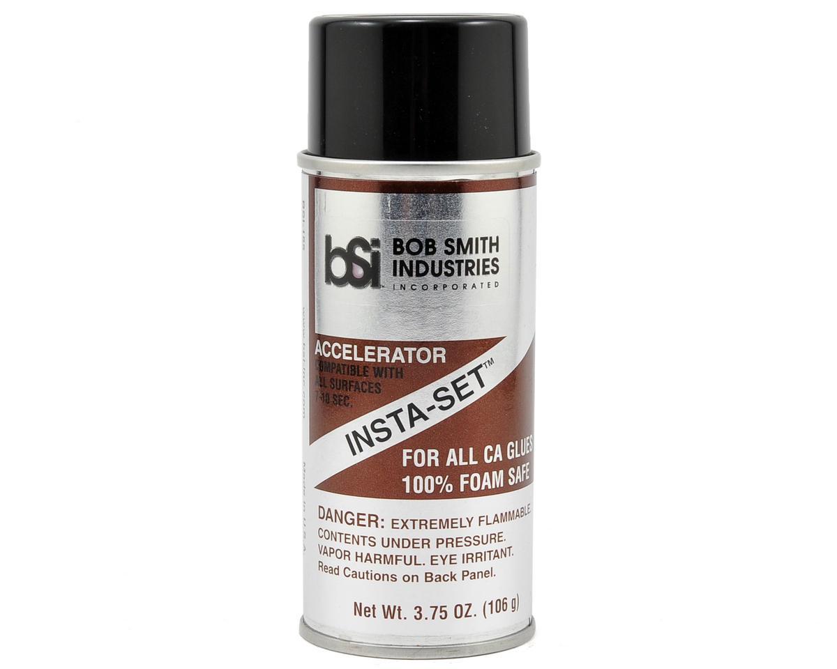 INSTA-SET Foam Safe Accelerator Aerosol Spray (3.75oz) by Bob Smith Industries