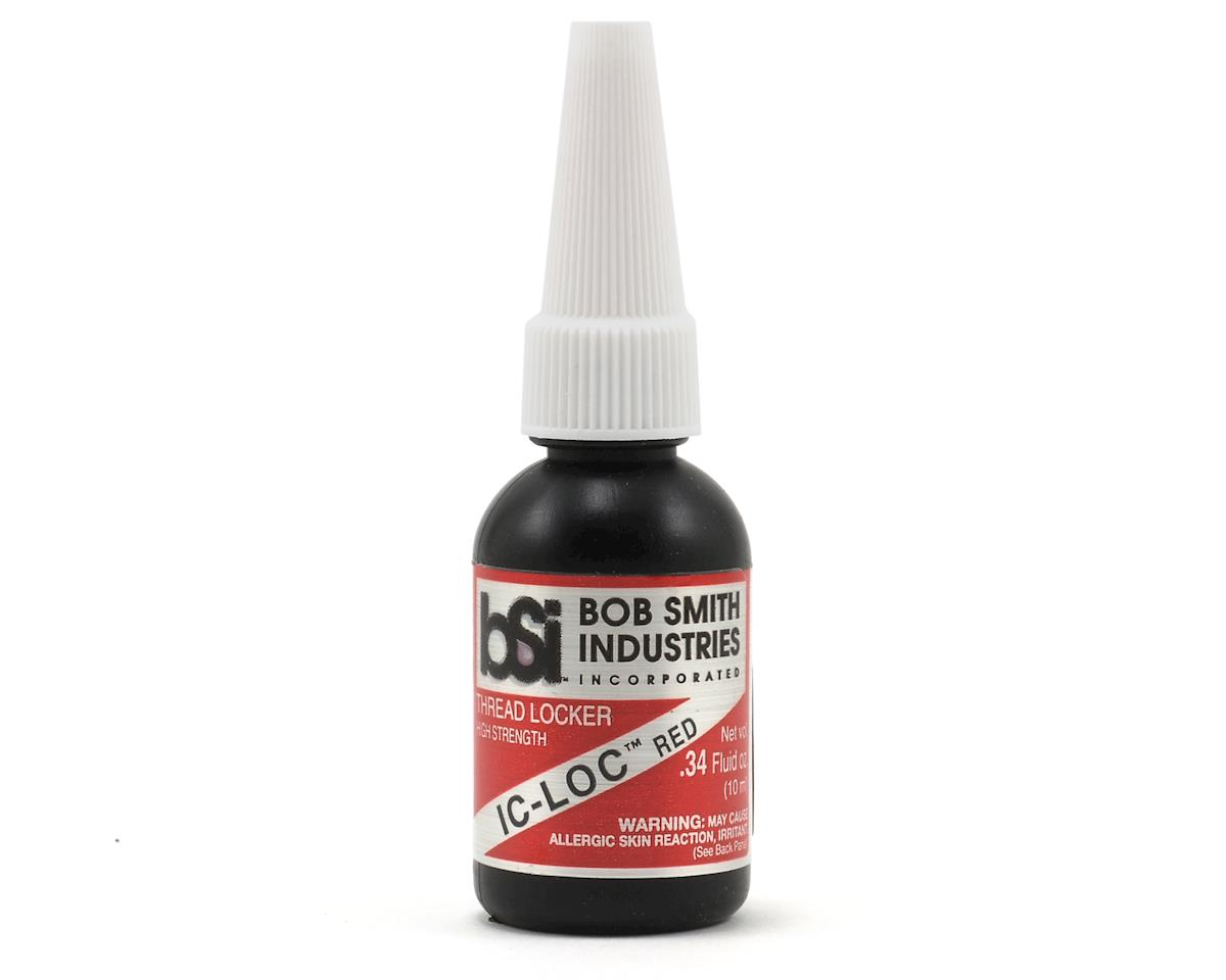 IC-LOC Red Permanent Thread Lock (1/3oz) by Bob Smith Industries