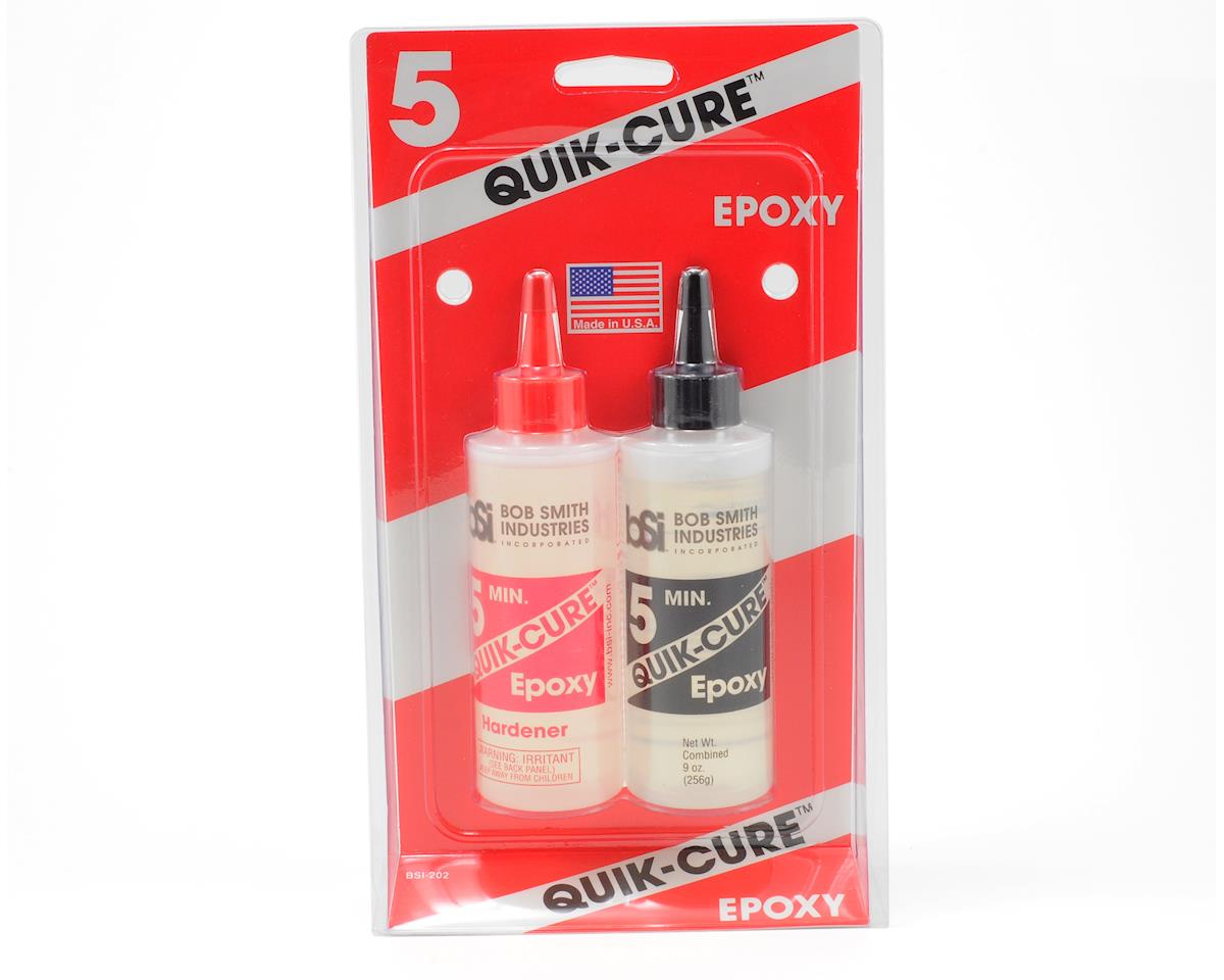 Bob Smith Industries QUICK-CURE 5 Minute Epoxy (9oz)