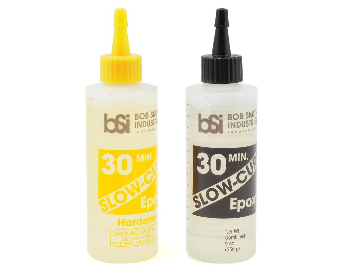 SLOW-CURE 30 Minute Epoxy (9oz) by Bob Smith Industries