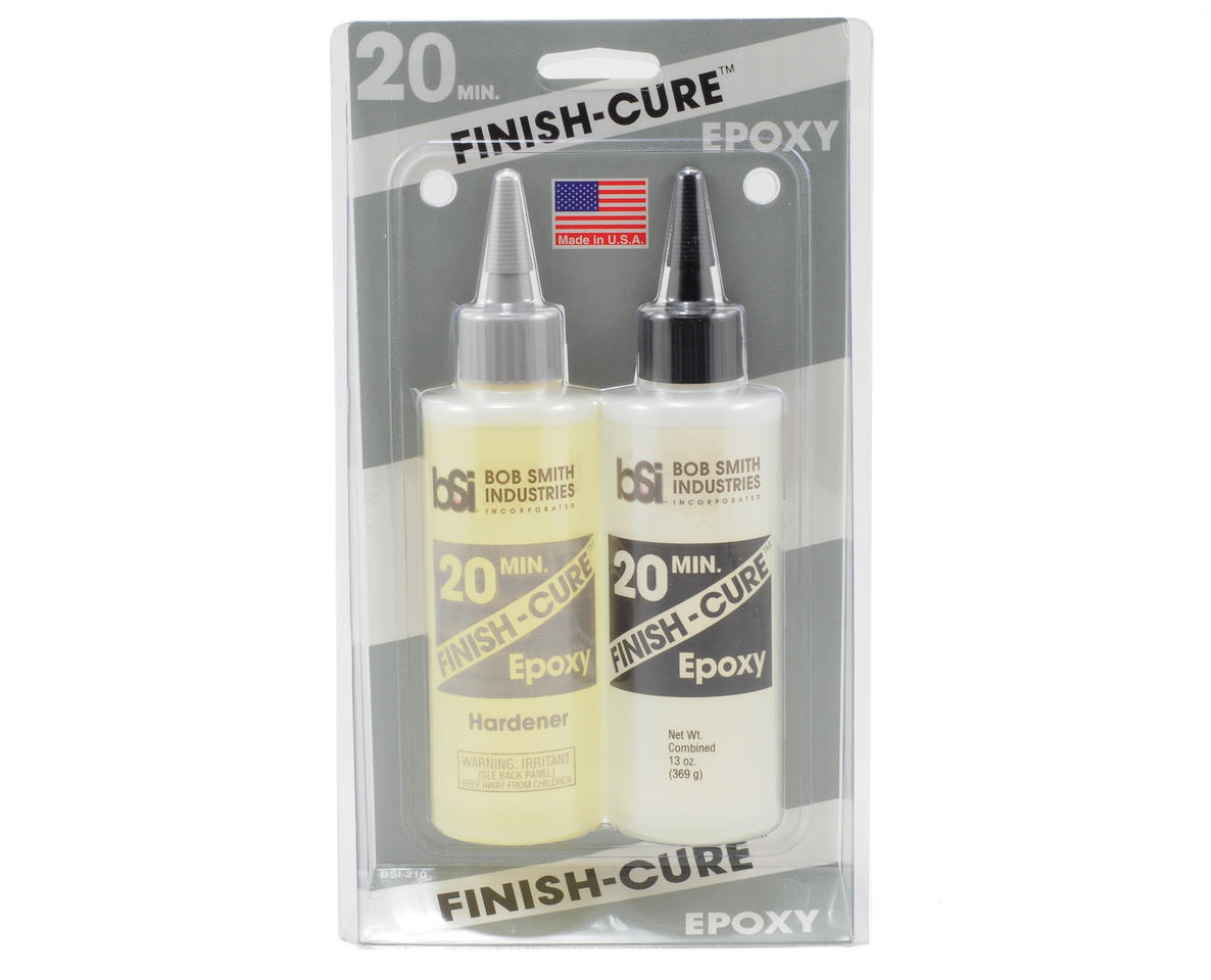 SCRATCH & DENT: Bob Smith Industries FINISH-CURE 20 Minute Epoxy (13oz)