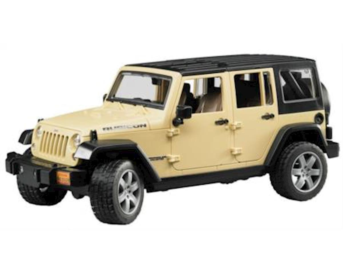 Bruder Jeep Wrangler Unlimited Rubicon   Color May Vary By Bruder Toys