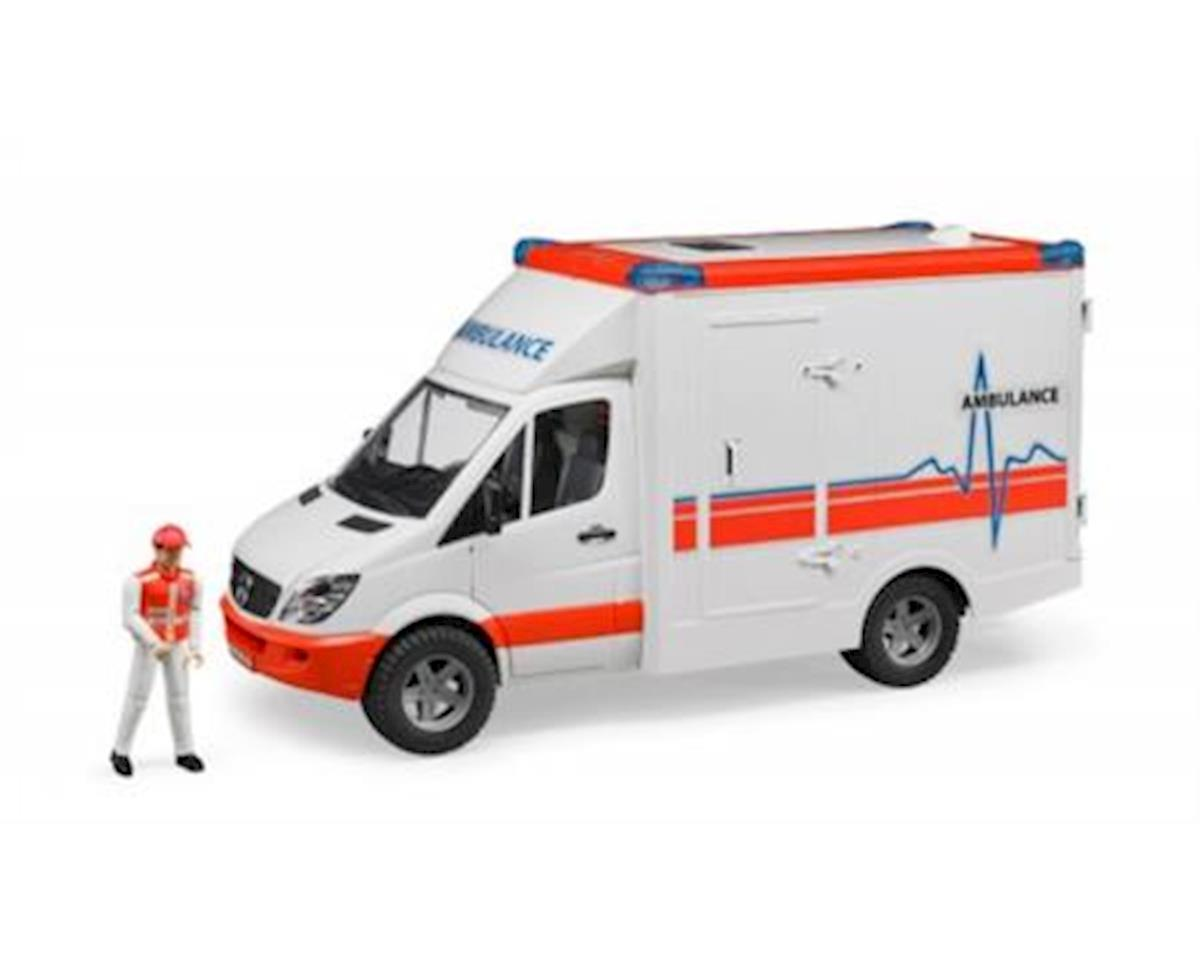 Bruder Toys Bruder MB Sprinter Ambulance with Driver Vehicle