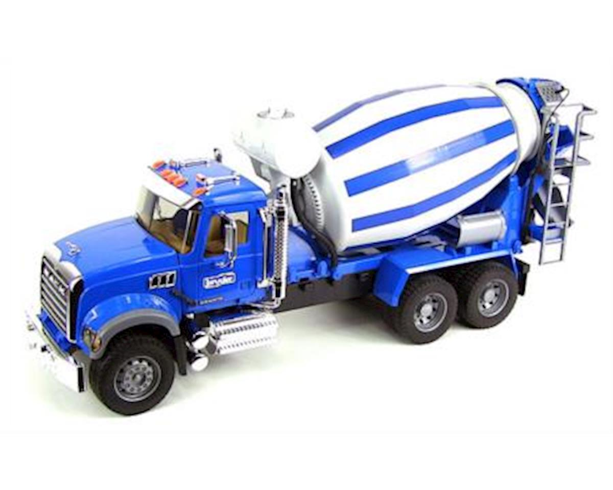 1/16 MACK Granite Cement Mixer by Bruder Toys
