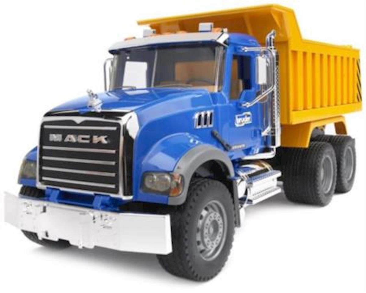 1/16 MACK Granite Dump Truck by Bruder Toys