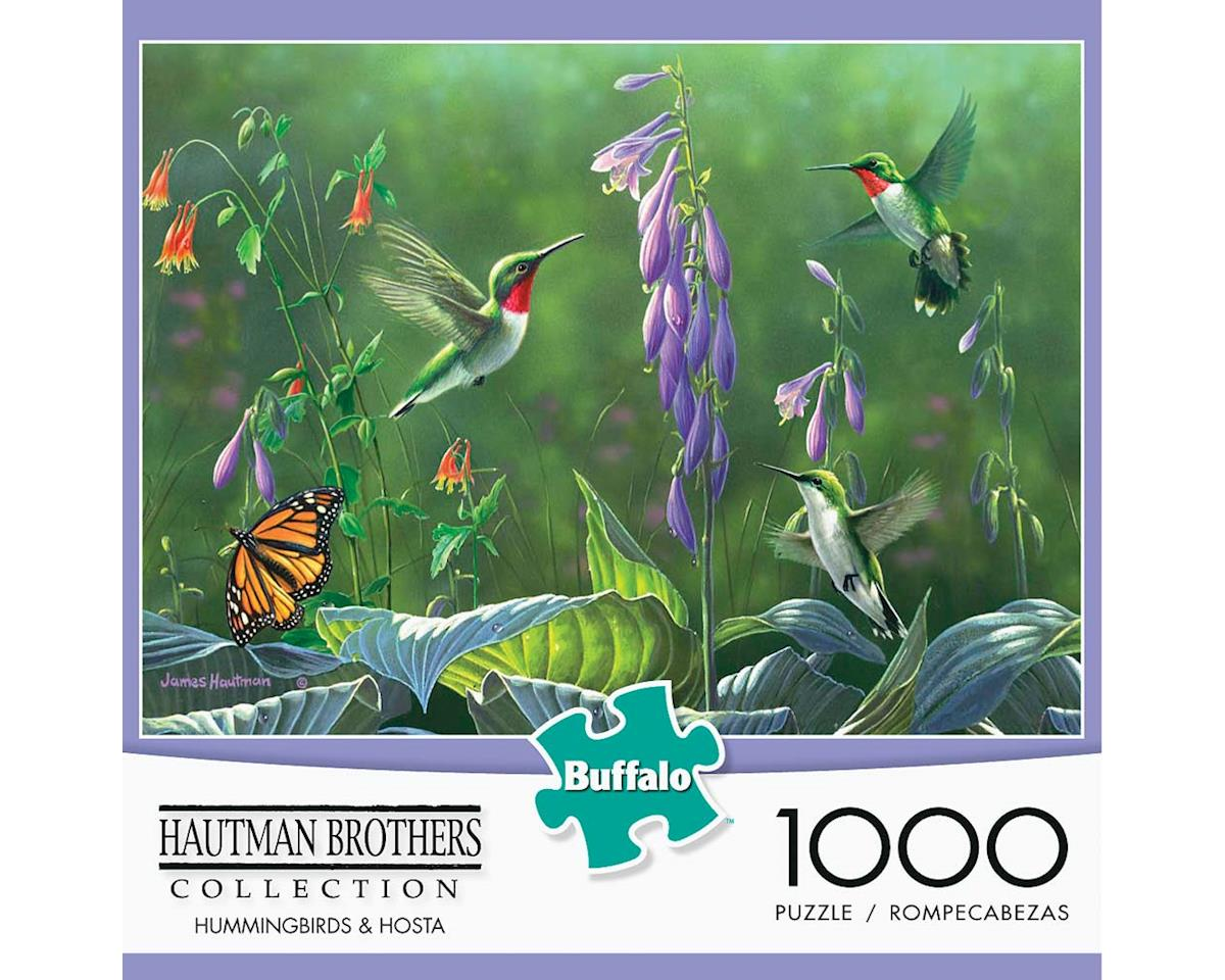 Buffalo Games 11180 Hummingbirds & Hosta 1000pcs