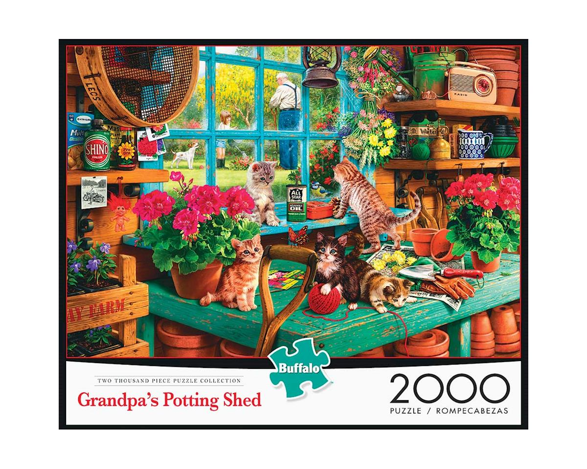 Buffalo Games 2048 Grandpa's Shed 2000pcs