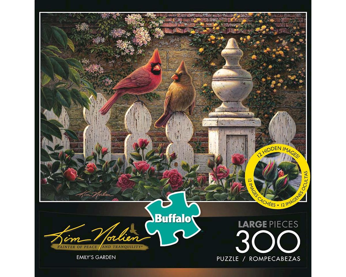 Buffalo Games 2472 Emily's Garden 300pcs Large Format