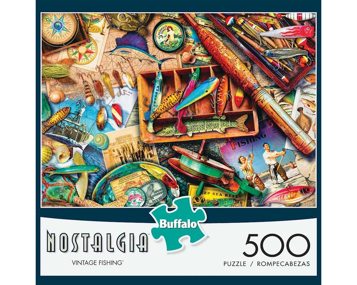 Buffalo Games 3744 Vintage Fishing 500pcs