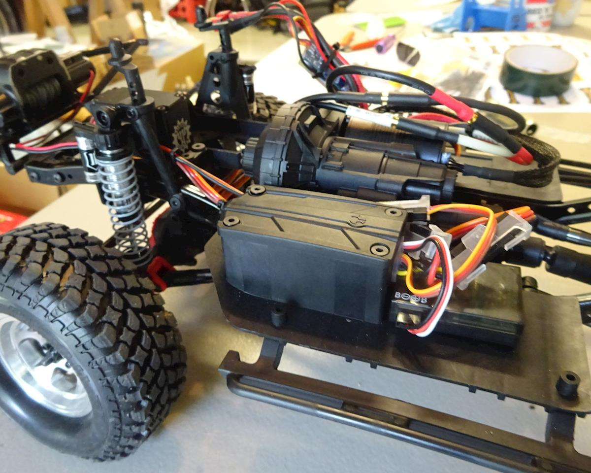BowHouse RC SCX10 II Kit Forward Mount Transmission Cradle  (AXI90046/AXI90075 Kit Only)