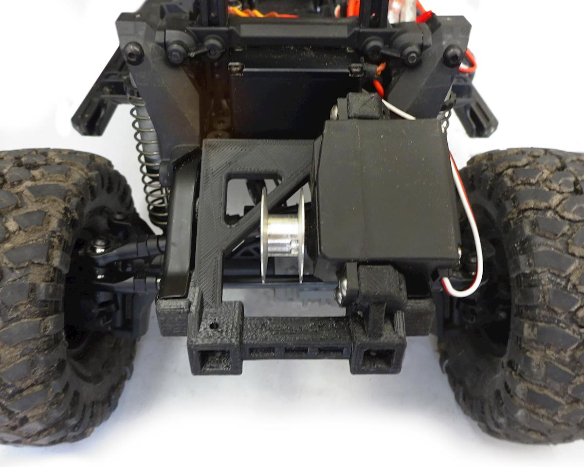 BowHouse RC TRX-4 Servo Winch & Bumper Mount
