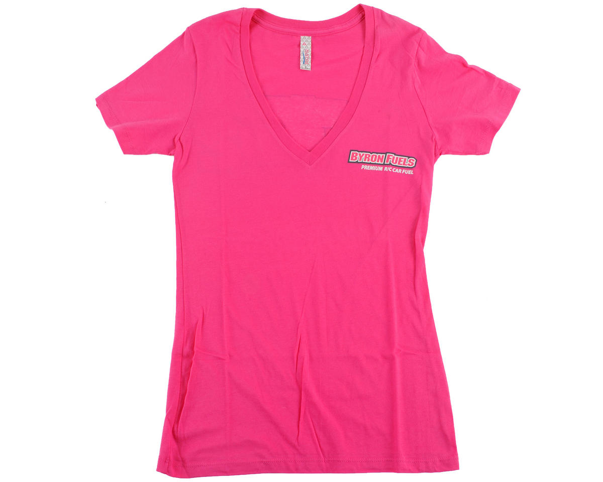 "Byron Originals ""Gen2"" Ladies V-Neck T-Shirt (Pink)"