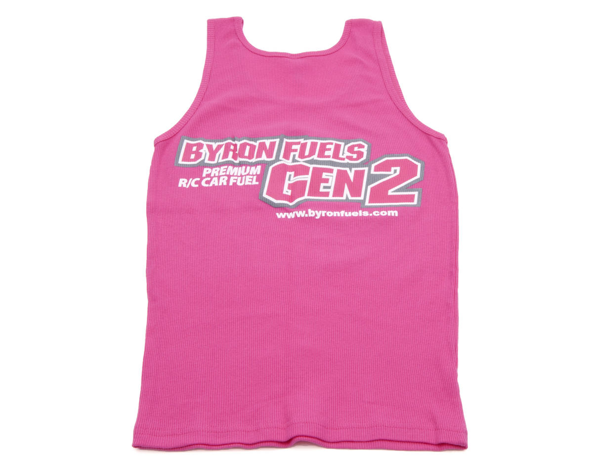 "Byron Originals Pink ""Gen2"" Ladies Tank Top (Medium)"