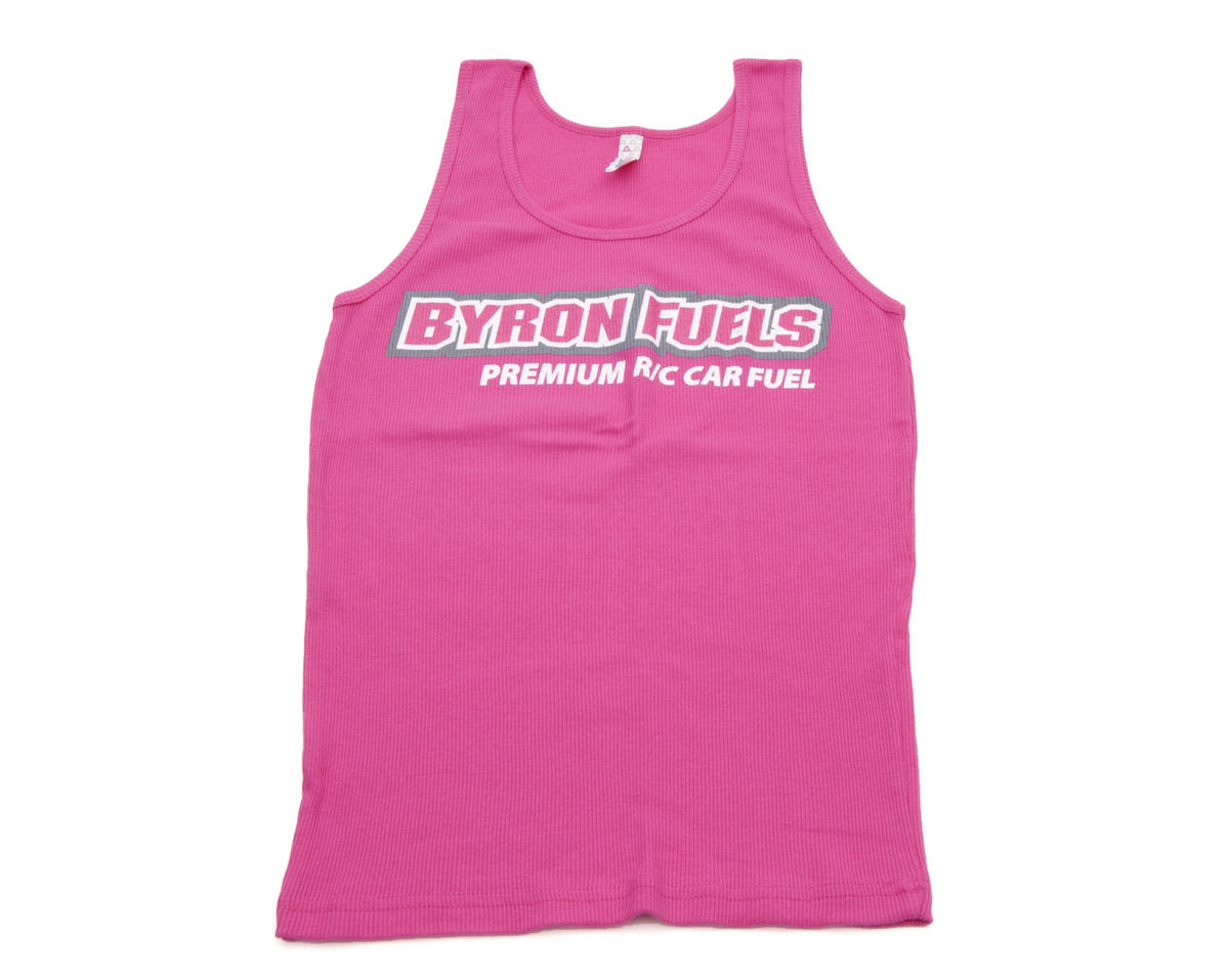 "Byron Originals ""Gen2"" Ladies Tank Top (Pink) (2XL)"