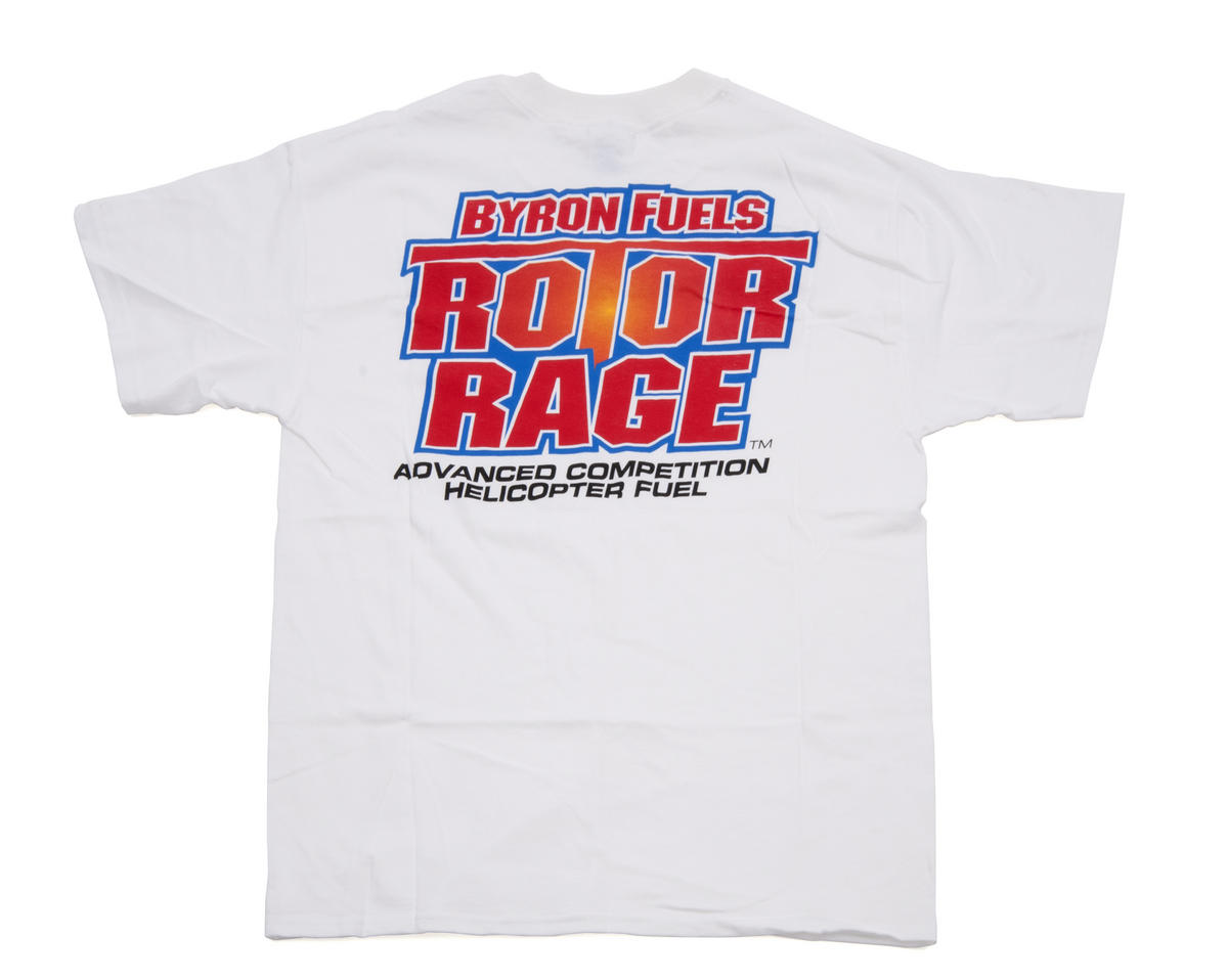 "Byron Originals ""Rotor Rage"" T-Shirt (White)"