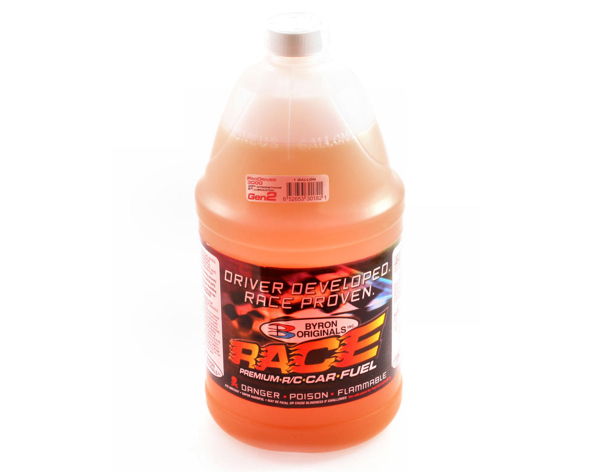 30% ProDriver 3000 Gen2 Car Fuel (Four Gallons) by Byron Originals