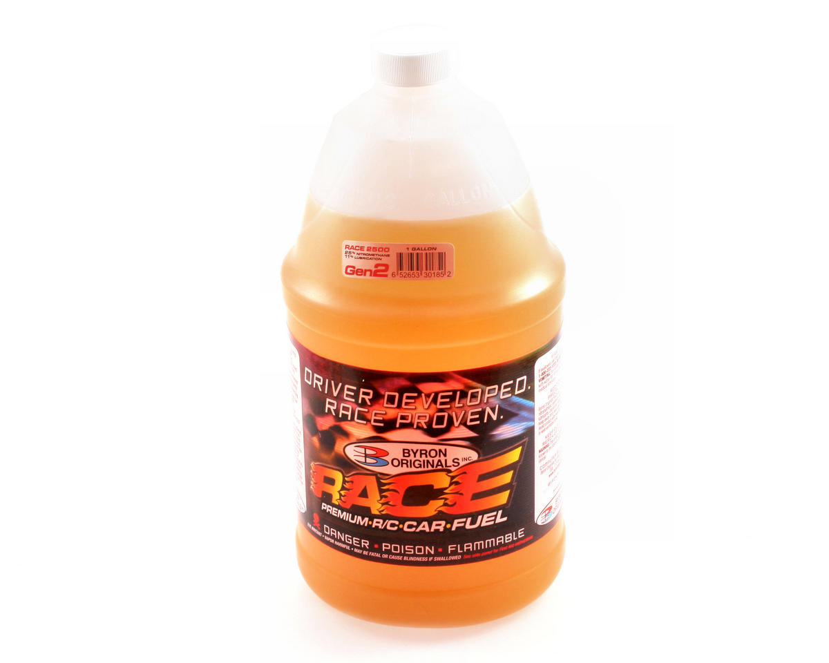 25% RACE 2500 Gen2 Car Fuel (Four Gallons) by Byron Originals
