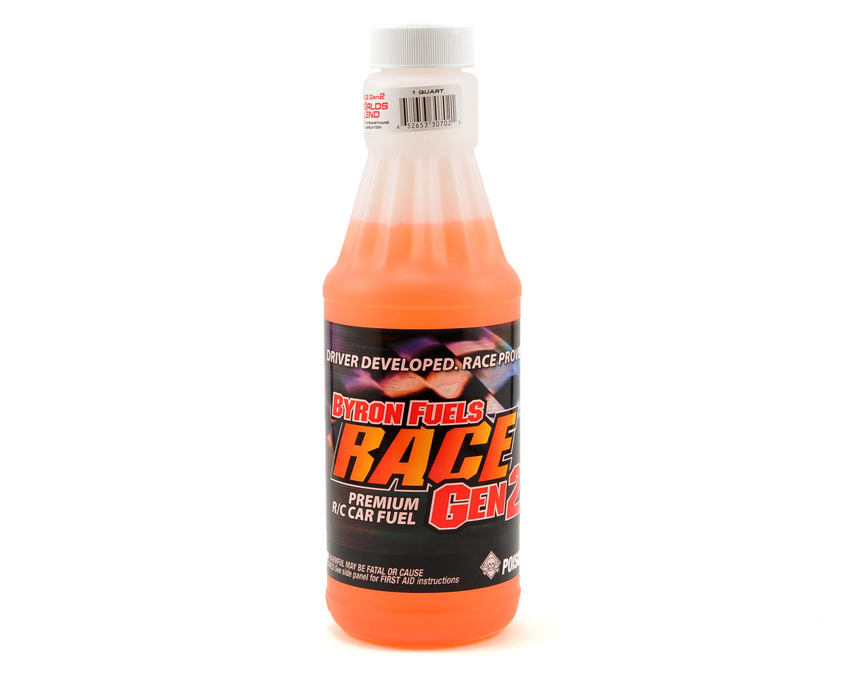 25% RACE 2500 Gen2 Worlds Blend Car Fuel (One Quart) by Byron Originals