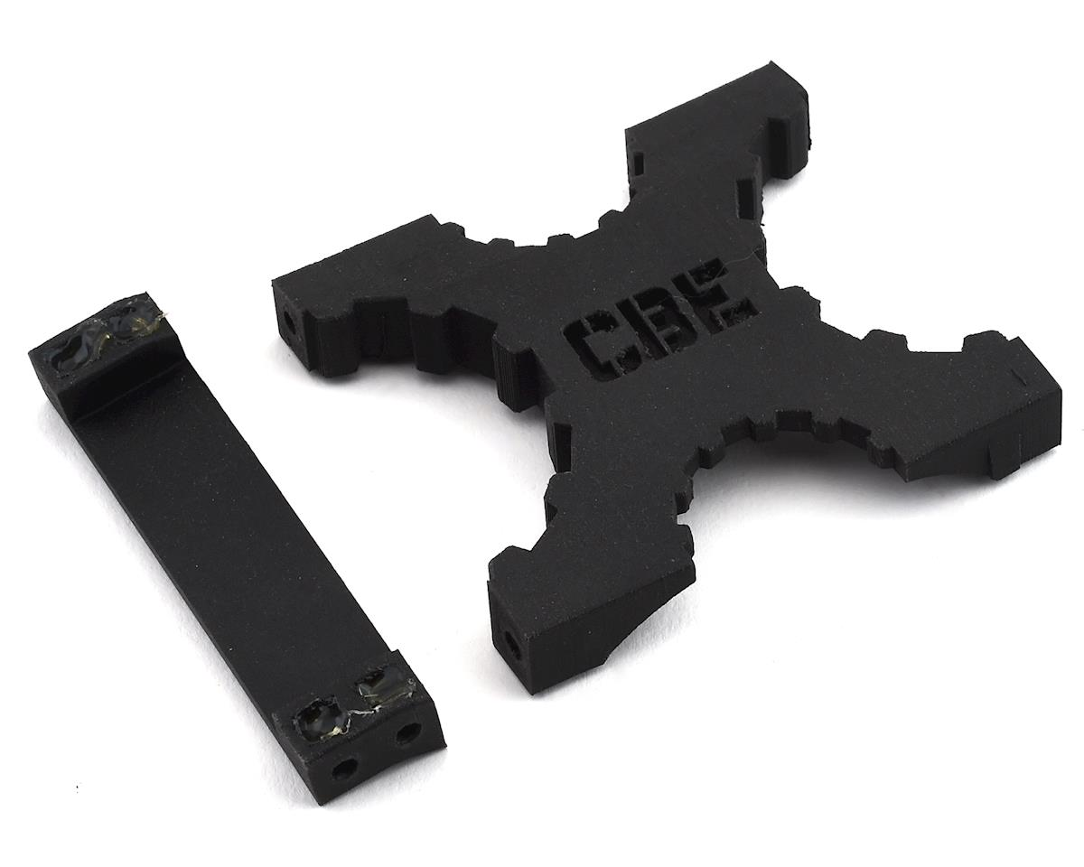 CBE RC Fab Carbon Nylon Switchback Rear X Brace (Axial SCX10 II)