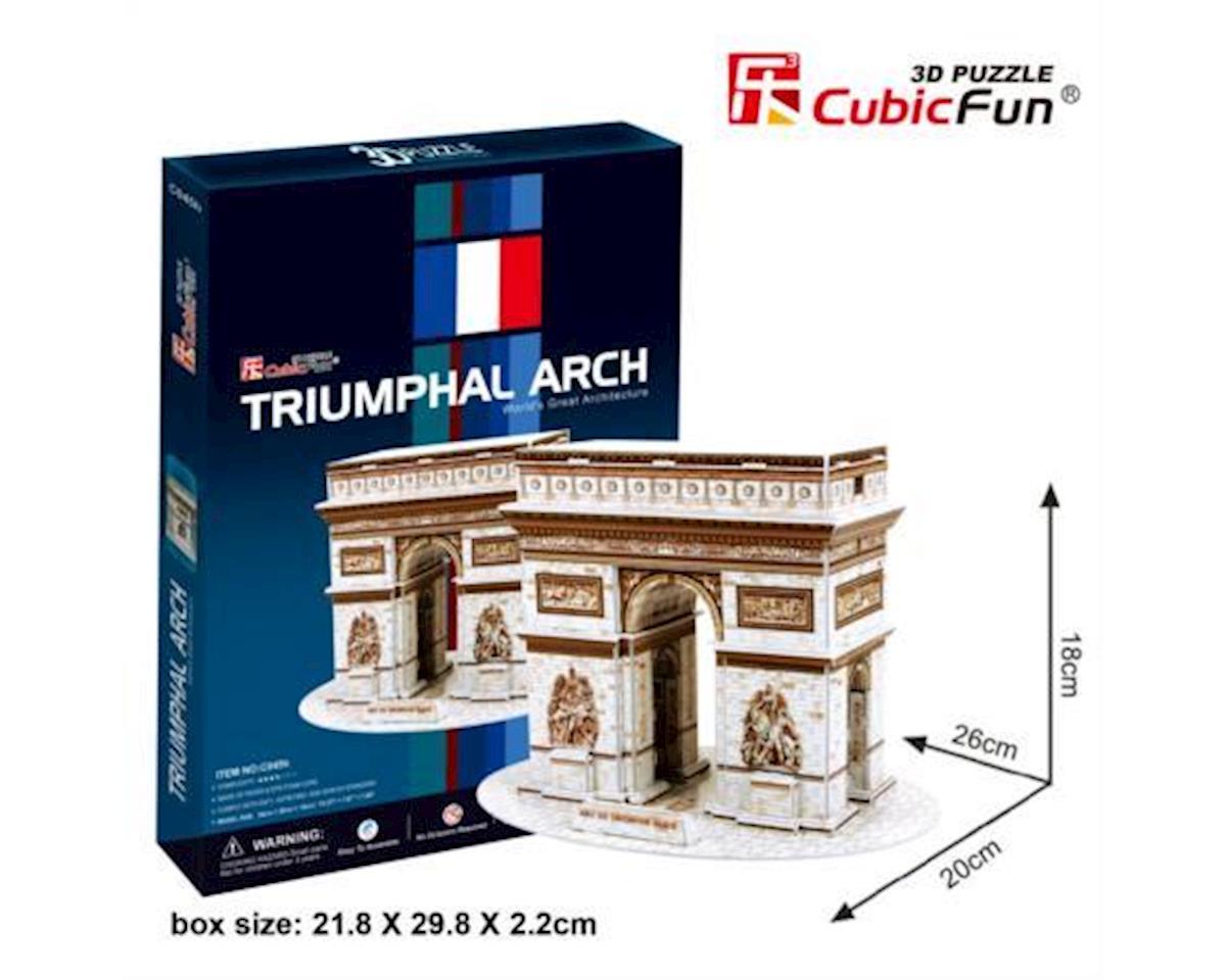 Cubic Fun Arch De Triumph Paris 3D Puzzle