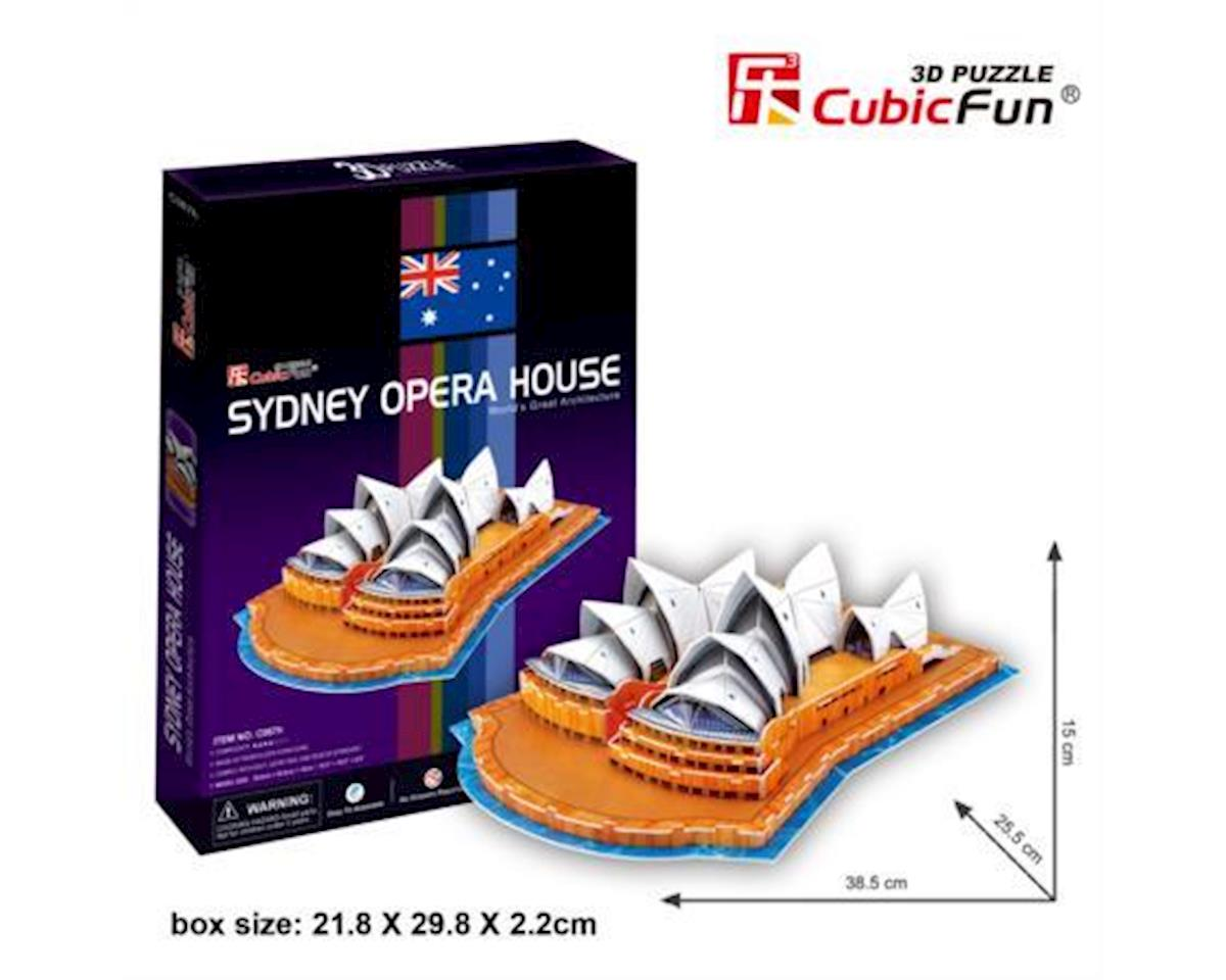 Sydney Opera House 3D Puzzle by Cubic Fun