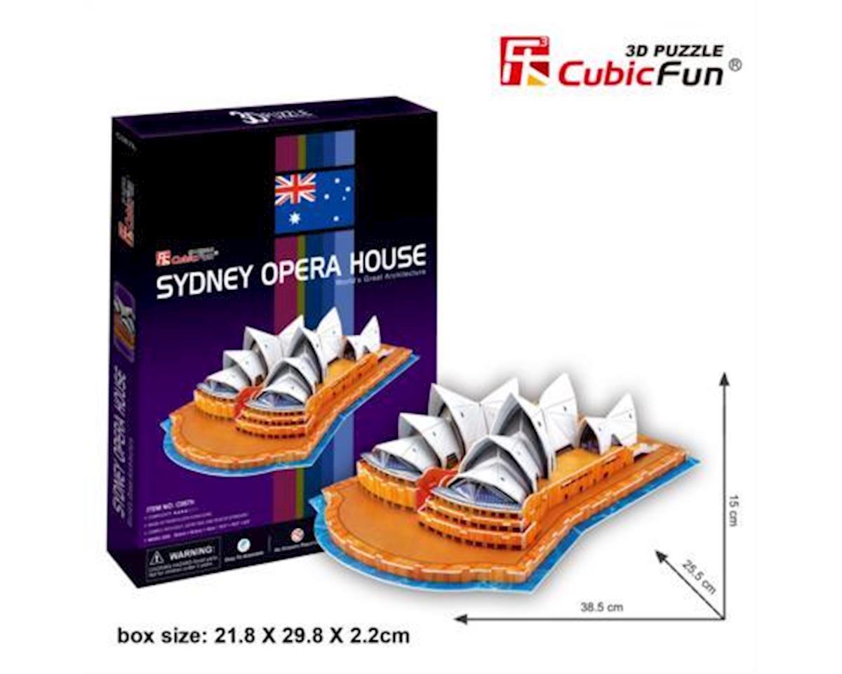 Cubic Fun CubicFun C067H Sydney Opera House Puzzle