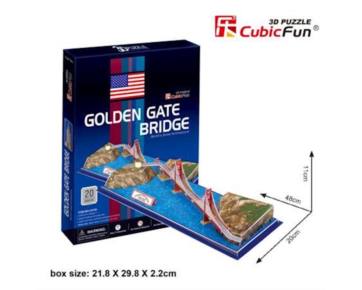 Golden Gate Bridge San Fran 3D Puz