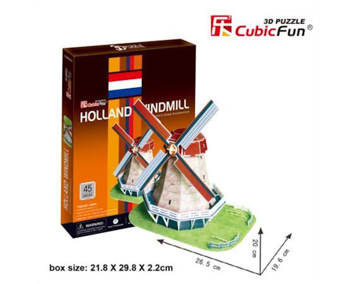 "Cubic Fun CubicFun 3D Puzzle C-Series ""Holland Windmill"""