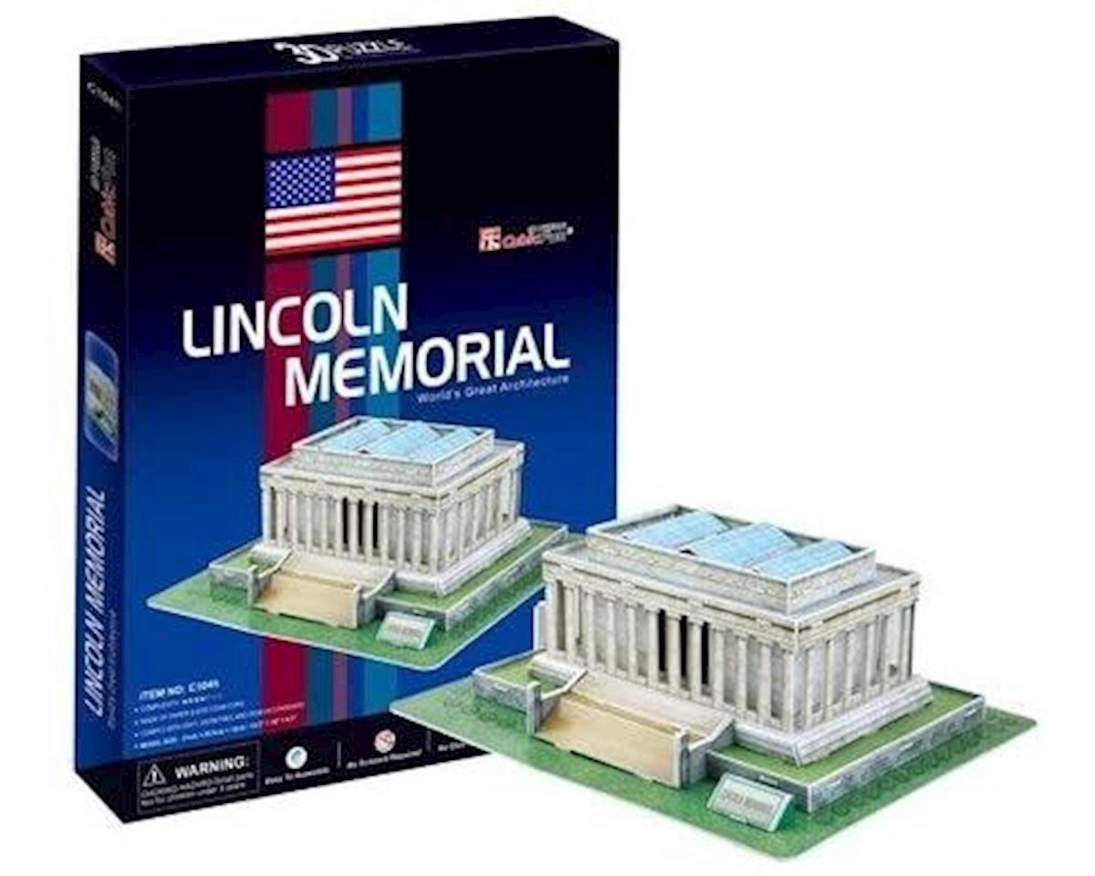 Cubic Fun Lincoln Memorial 3D 42pcs