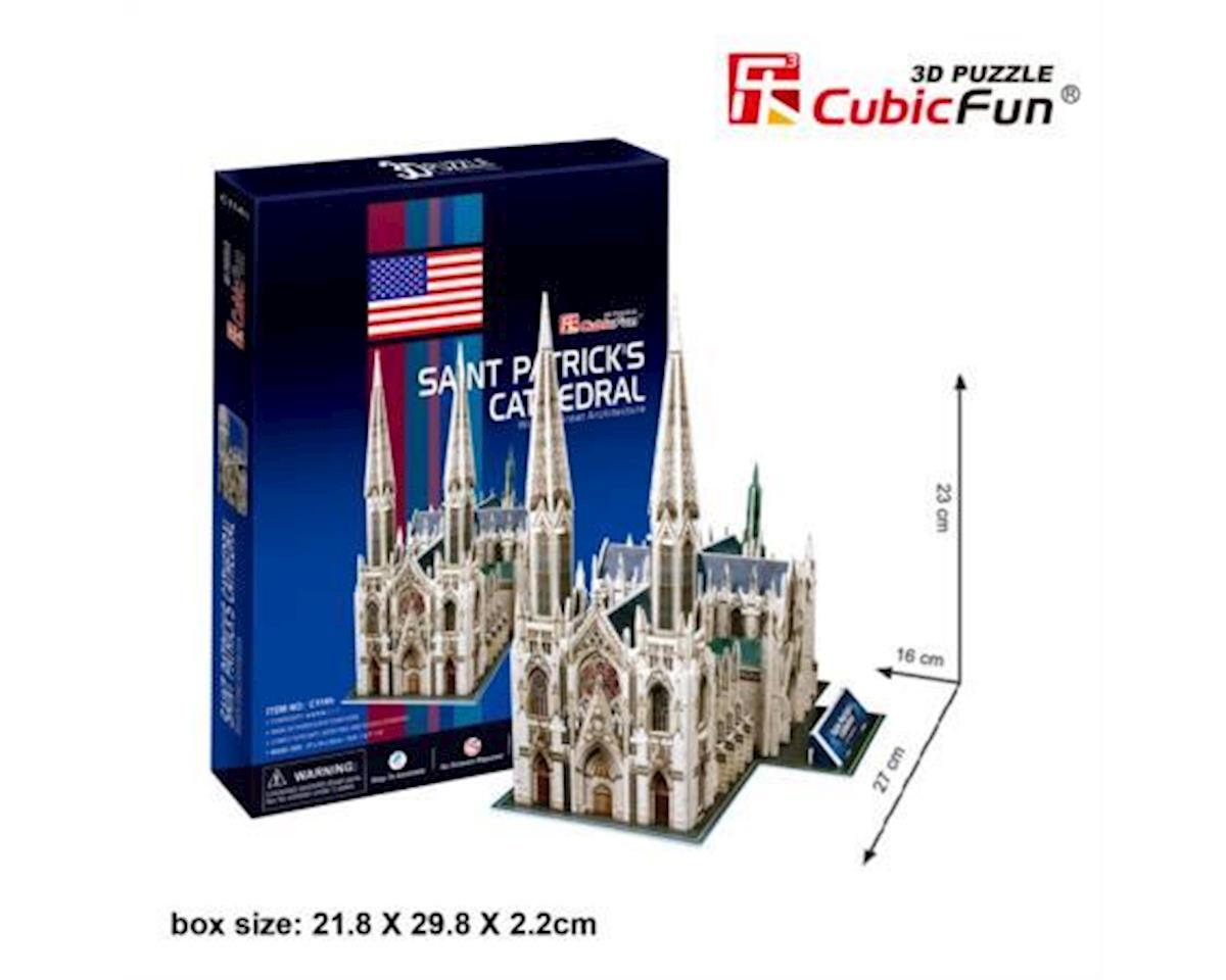 Cubic Fun St. Patrick's Cathedral 3D Puz