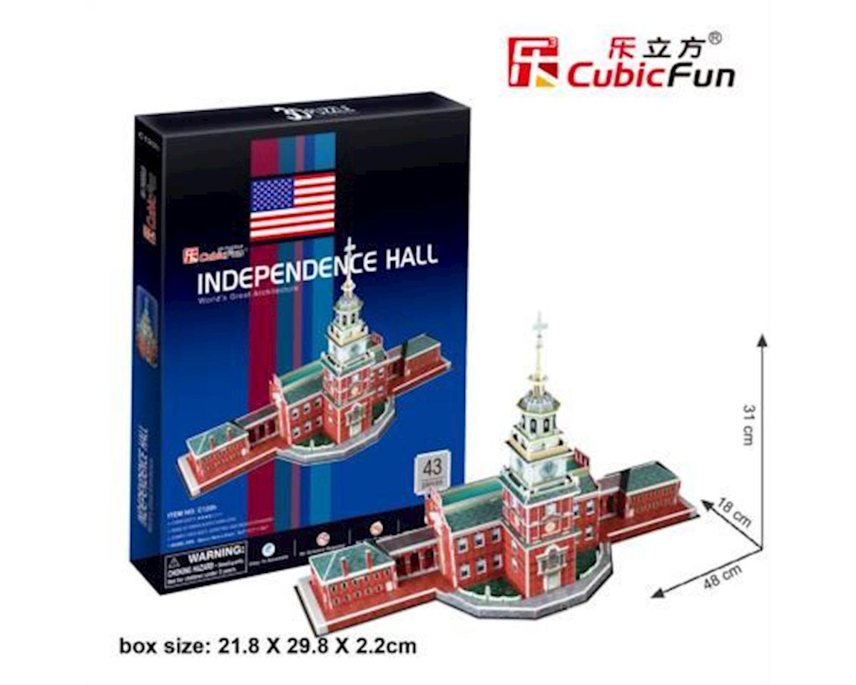 Cubic Fun Independence Hall 3D Puz