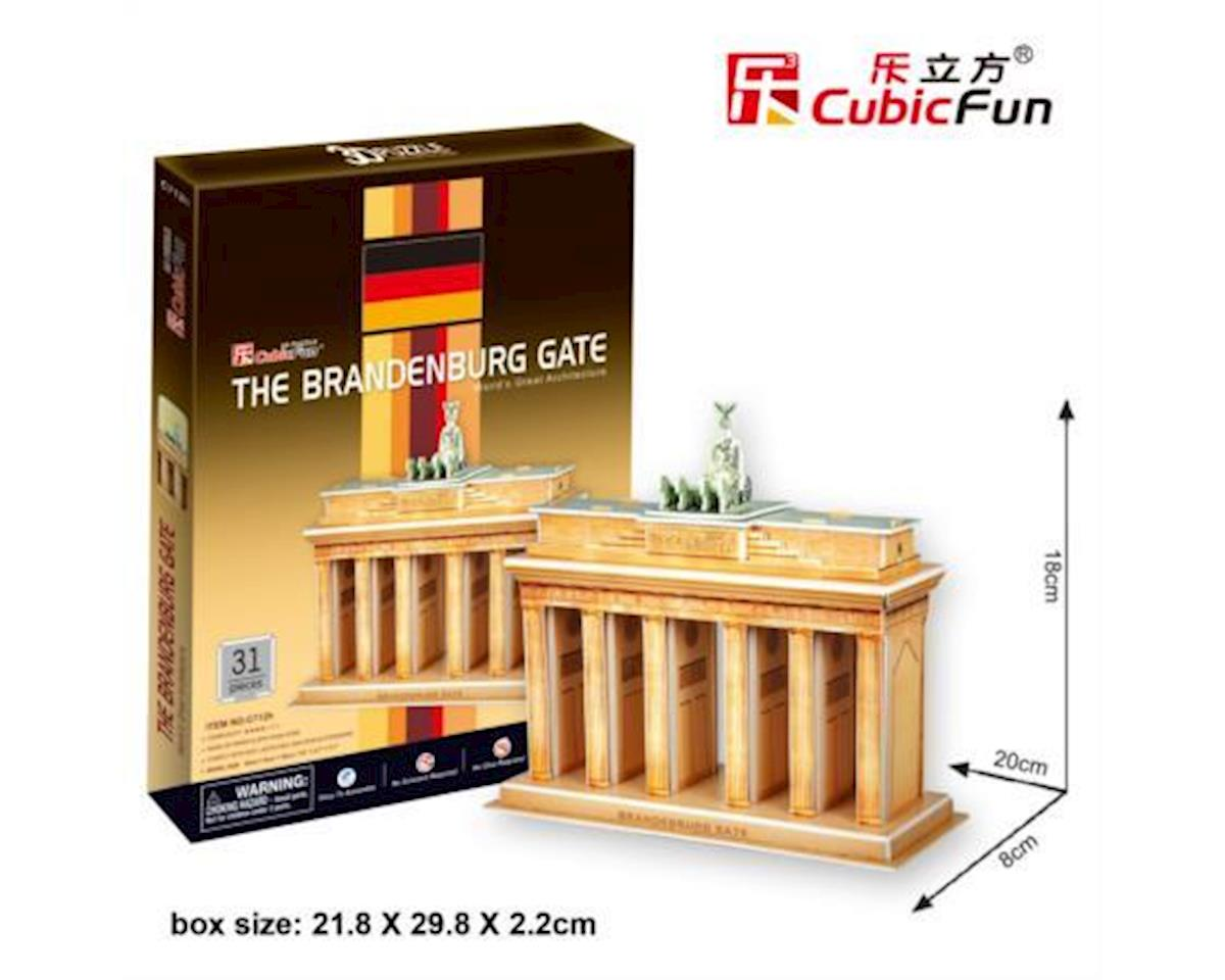 "Cubic Fun CubicFun 3D Puzzle C-Series ""The Brandenburg Gate - Germany"""