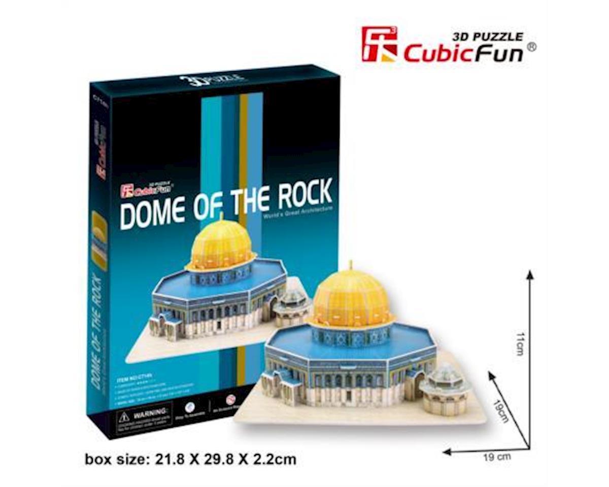 Cubic Fun Dome Of The Rock Jerusalem 3D Puz